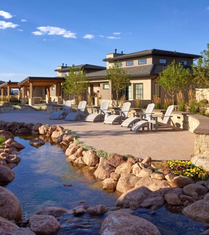 Casitas and cottages at Garden of the Gods Resort and Club