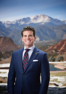 Grant Jones, Vice President of Wellness at Garden of the Gods Resort & Club
