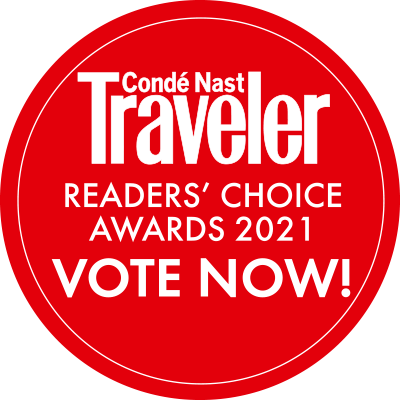 2021 Condé Nast Traveler Readers' Choice Awards 1