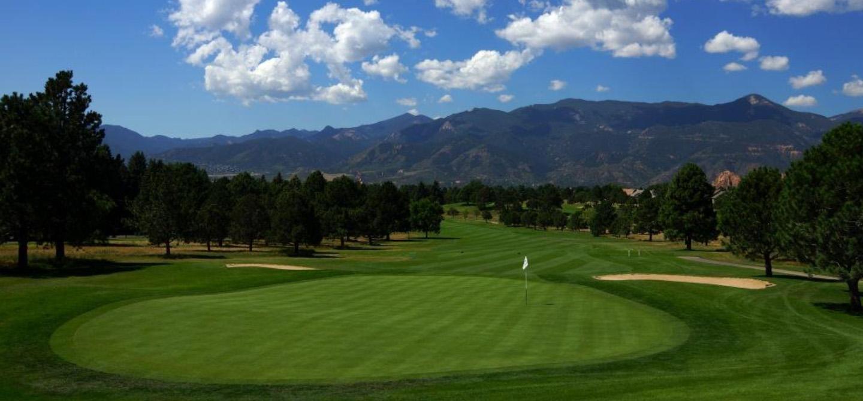 Colorado Springs Golf Courses Garden Of The Gods Collection