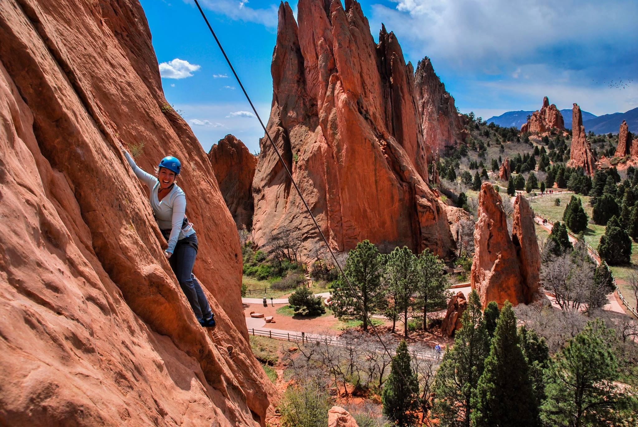 Reach New Heights Rock Climbing in Garden of the Gods - Garden of ...