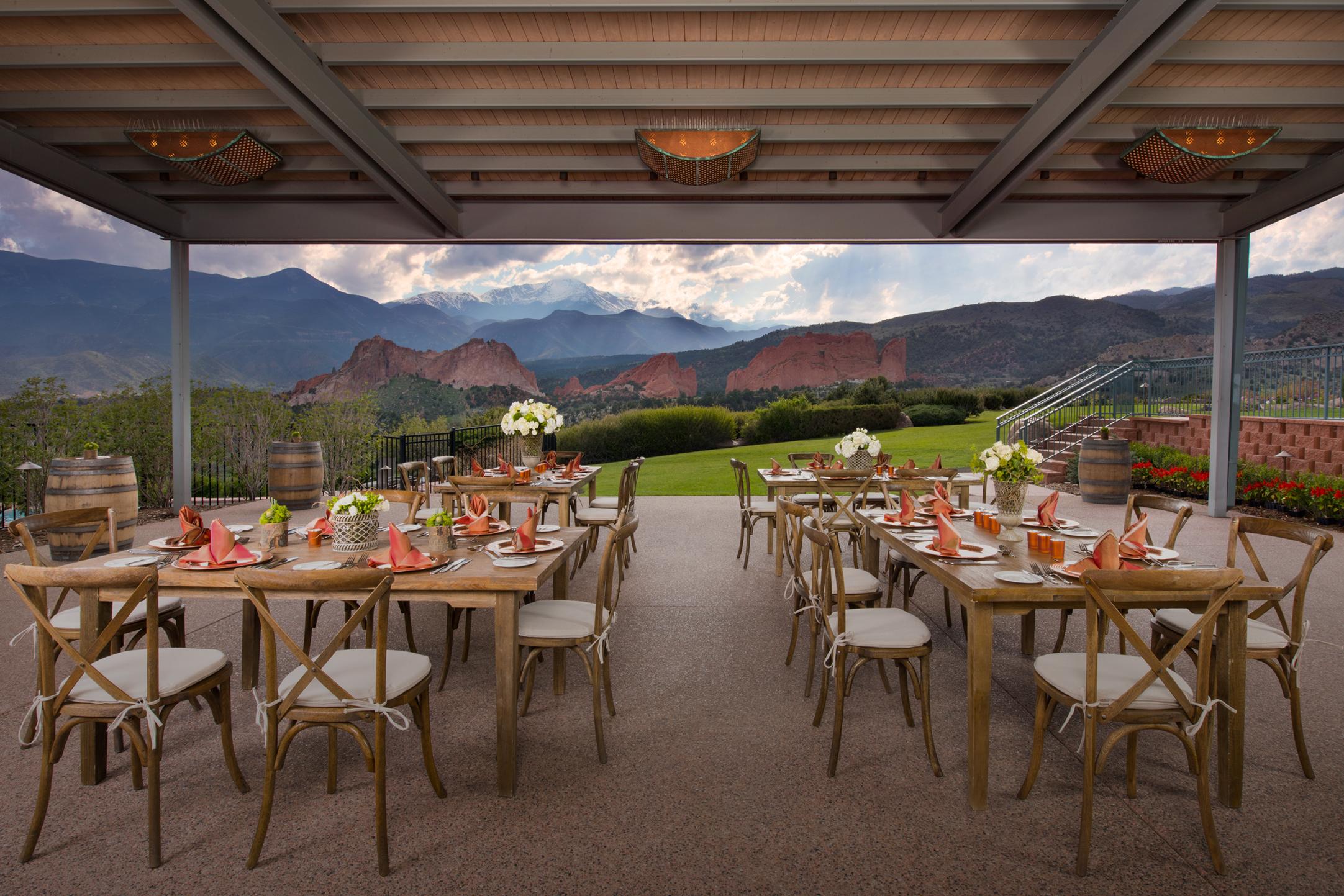 catering outdoor venue colorado springs