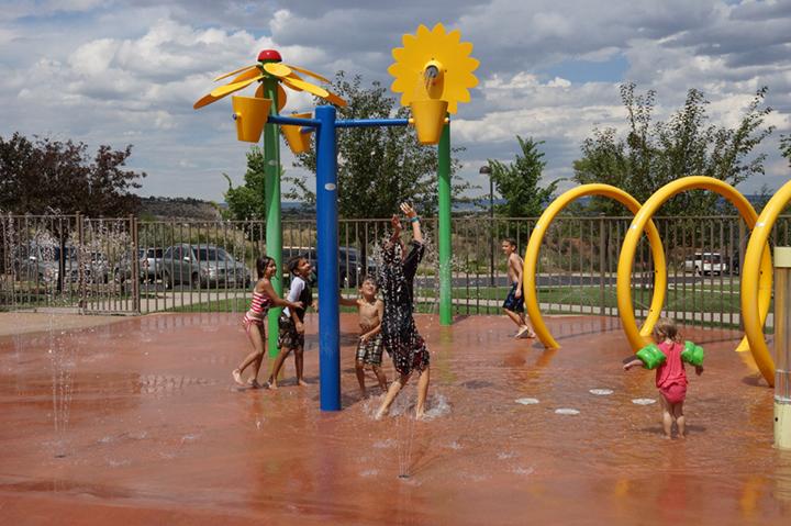 splash pad kids pool