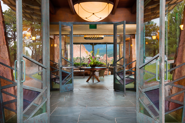 open doors in garden of the gods resort