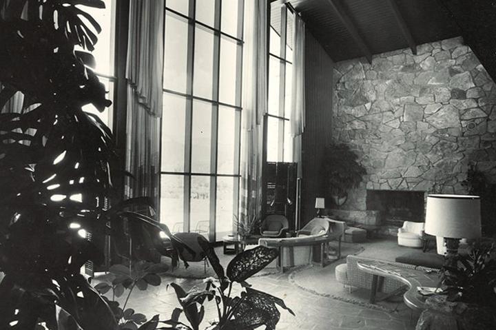 historical lobby inside garden of the gods club